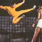 Bruce Lee Flying Kick Photo