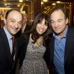 Bill Sherman, Robin Bronck, Jim Belushi