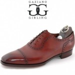 "Gaziano & Girling ""St. James II"" Vintage Cherry Calfskin Shoe"