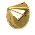 Cor Sin Labe Doli Primo Gold Ceramic Handkerchief