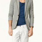 zara-pique-blazer-with-piping