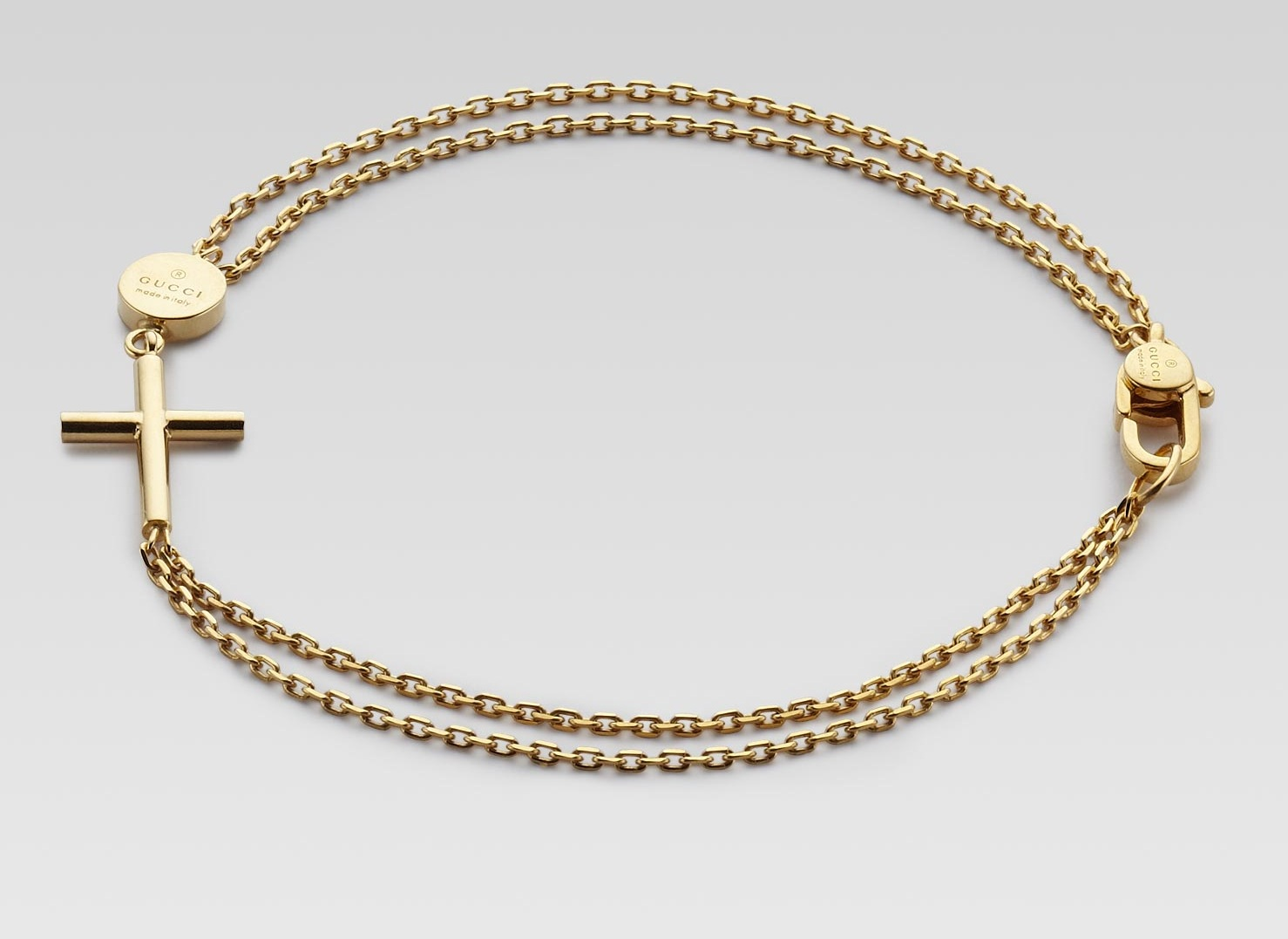 Gucci Gold Bracelet Men a Gucci 18k Gold Bracelet With
