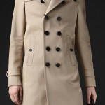 Burberry Men's Bonded Cotton Twill Trench Coat