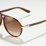 Gucci Plastic Aviator Sunglasses Havana Brown 2