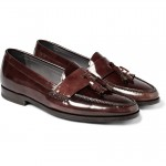 Lanvin Patent Leather Tasselled Loafers 2