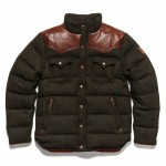 Penfield Stapleton Tweed Down Cropped Jacket