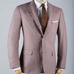 Norman Hilton Cannon Lavender Tweed Sport Coat