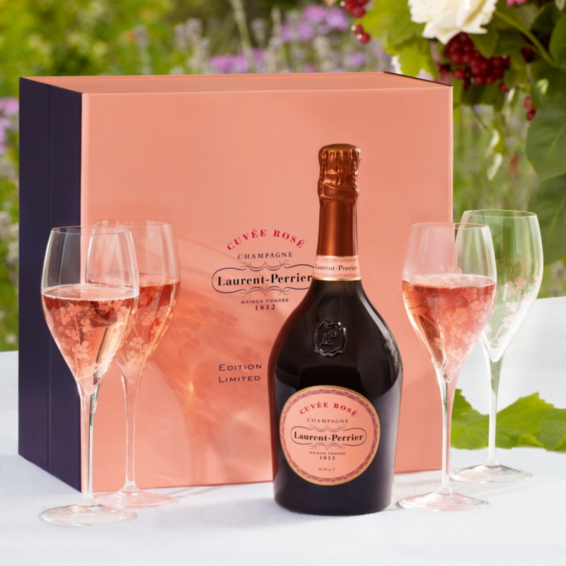Laurent Perrier Cuvée Rosé Gift Set