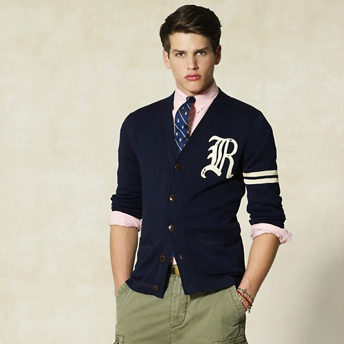 Rugby Ralph Lauren Striped Cardigan