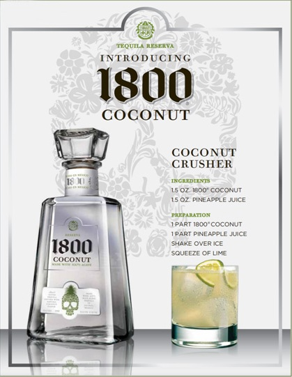1800 Coconut Tequila Recipe
