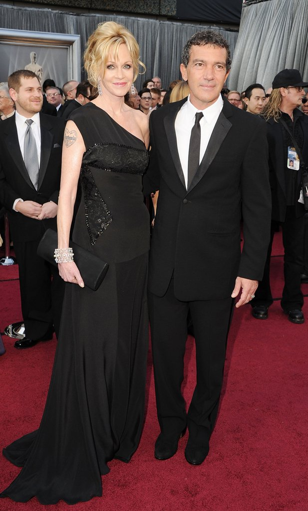 Antonio Banderas 2012 Academy Awards Red Carpet