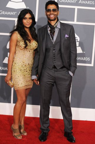 Eric Benet Grammys 2012 Red Carpet