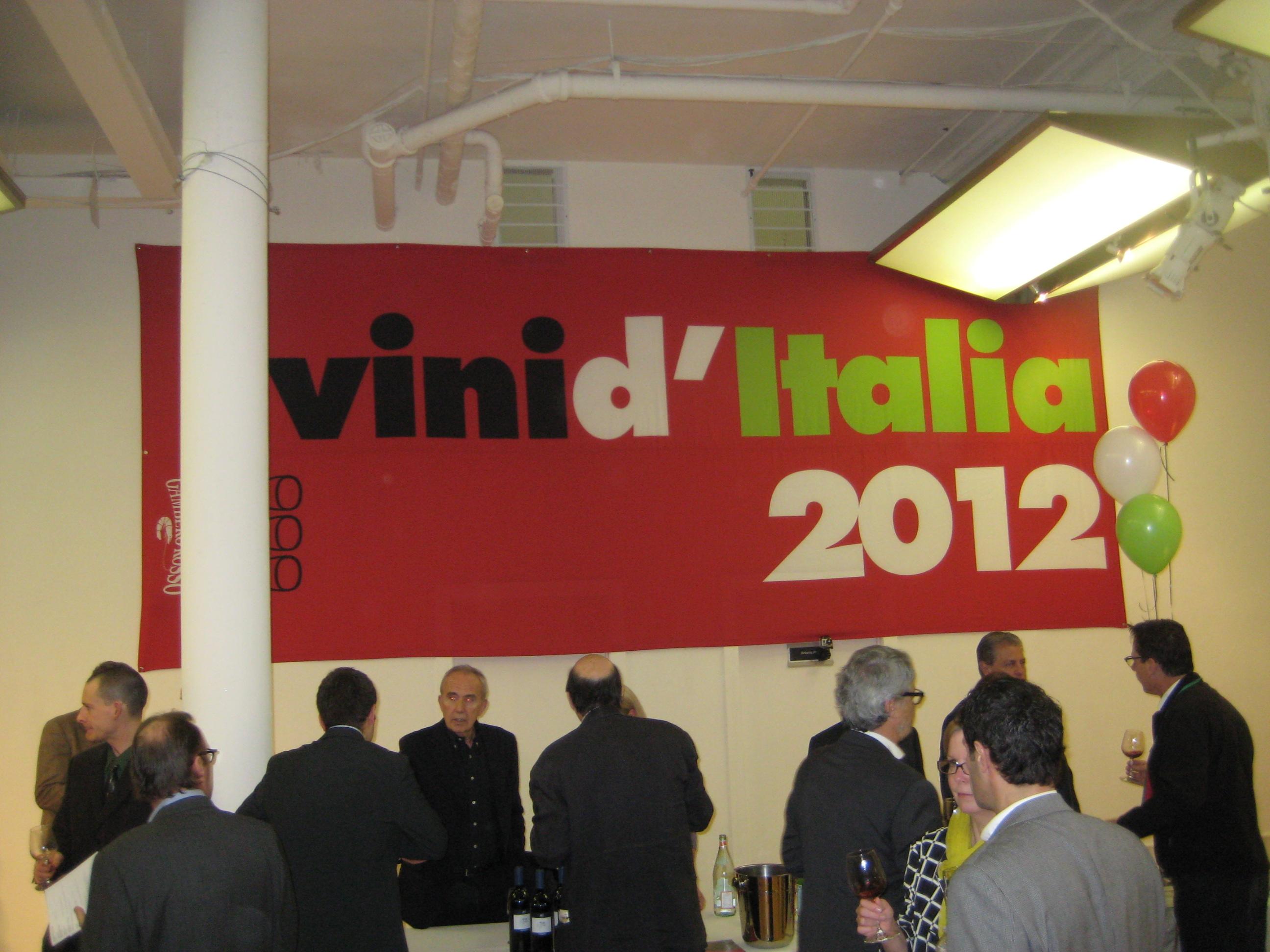 Tre Bicchieri 2012 Italian Wine Tasting