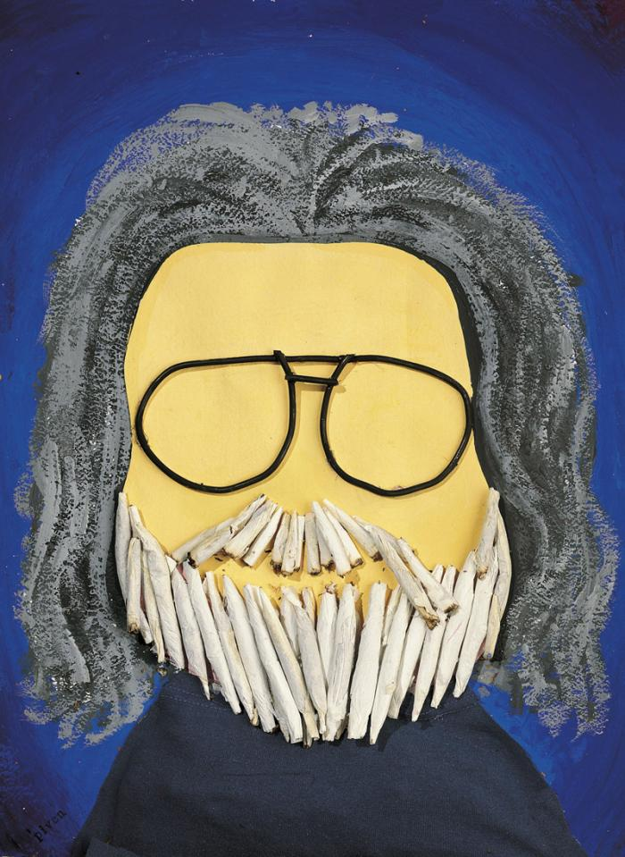 Jerry Garcia By Hanoch Piven