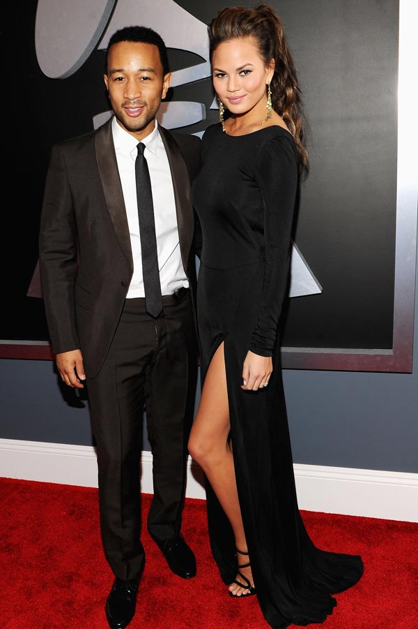 John Legend Grammys 2012 Red Carpet