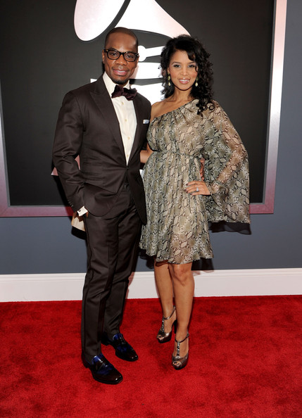 Kirk Franklin Grammys 2012 Red Carpet