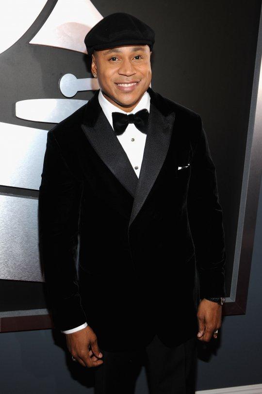 LL Cool J Grammys 2012 Red Carpet