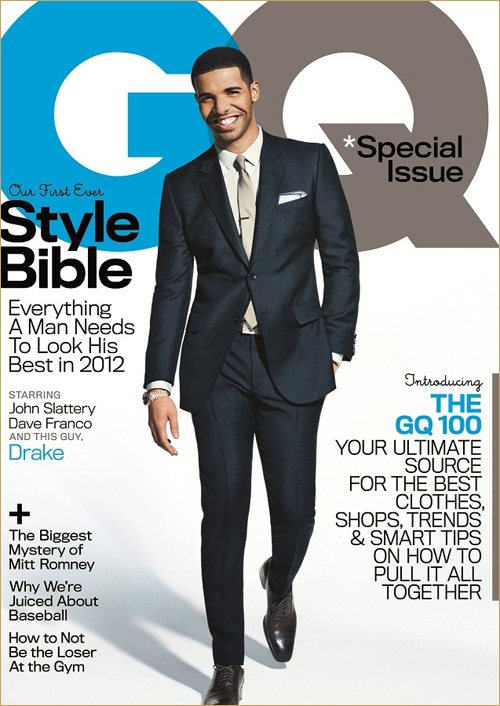 Drake Photoshoot For GQ Magazine's Style Bible