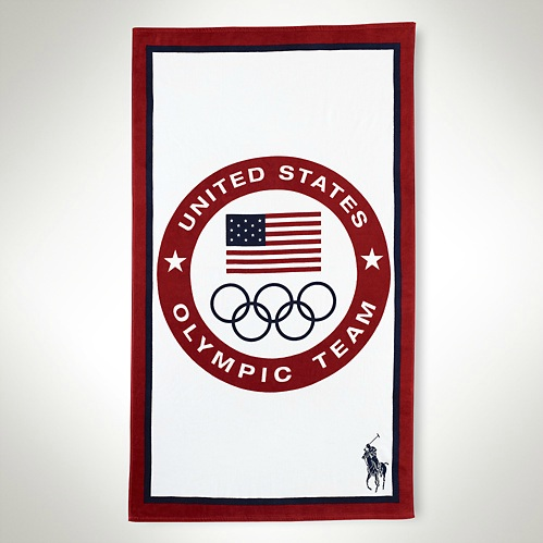 Polo Ralph Lauren 2012 U.S. Olympic Collection Team USA Beach Towel