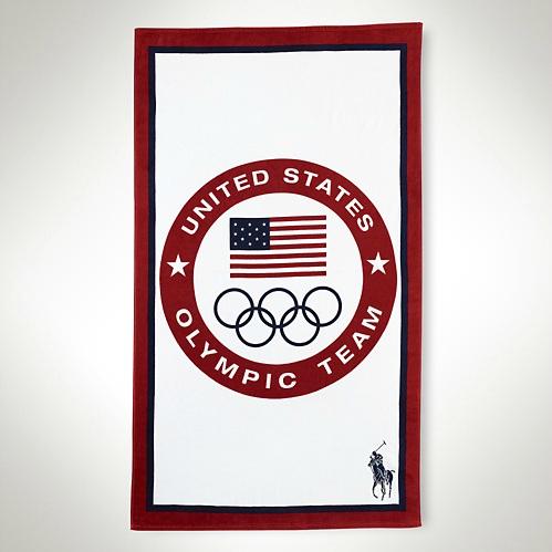 Polo Ralph Lauren 2012 U.S. Olympic Collection Team USA Beach Towel