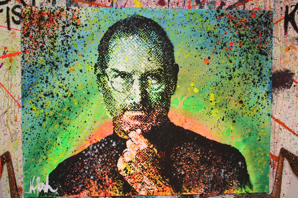 Kelcey Fisher Steve Jobs Artwork