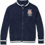 Polo Ralph Lauren Cotton Blend Jersey Cardigan