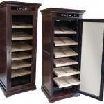 The Remington Electric Cigar Cabinet Humidor
