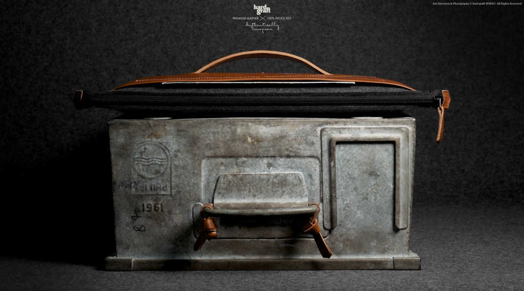 Hard Graft Grab Laptop Heritage Folio