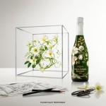 Perriet Jouët Limited Edition BELLE ÉPOQUE Champagne Bottle