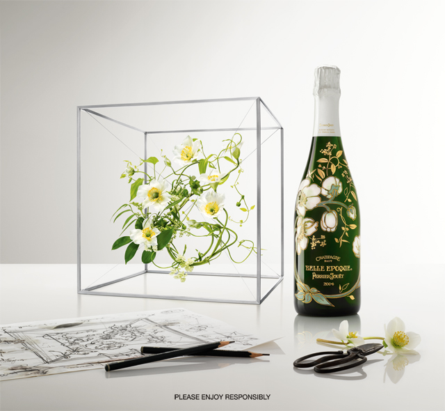 Perrier Jouët Limited Edition BELLE ÉPOQUE Champagne Bottle