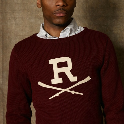 Rugby Merino Rowing Boatneck Sweater