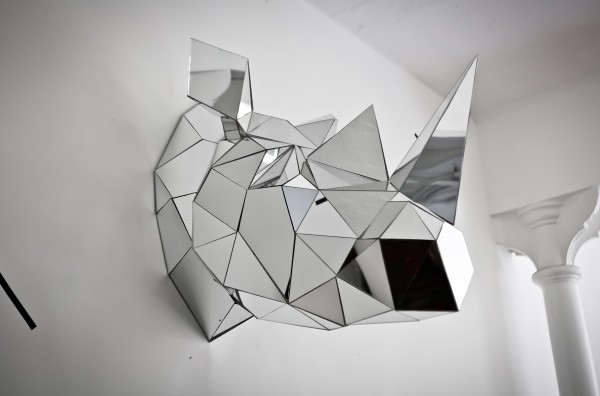 Arran Gregory Rhino Sculpture