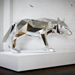 Arran Gregory Wolf Sculpture