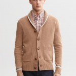 Banana Republic Tipped Shawl-Collar Cardigan