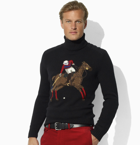 Ralph Lauren Polo Horse Long Sleeve Turtleneck