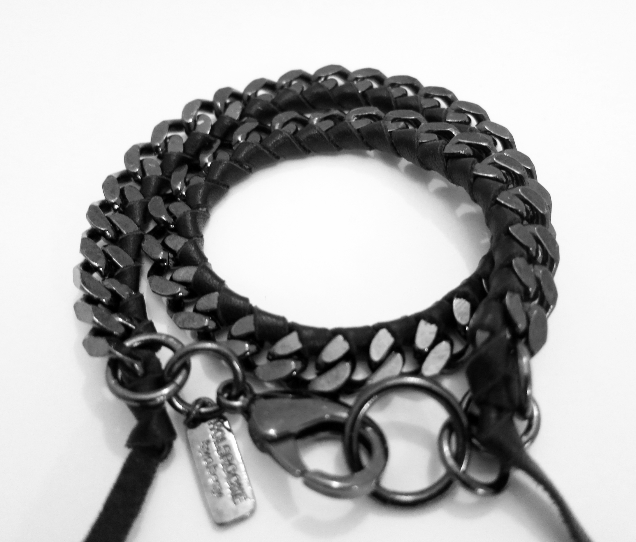 Holbrooke By S. Berry All Black Everything Bracelet