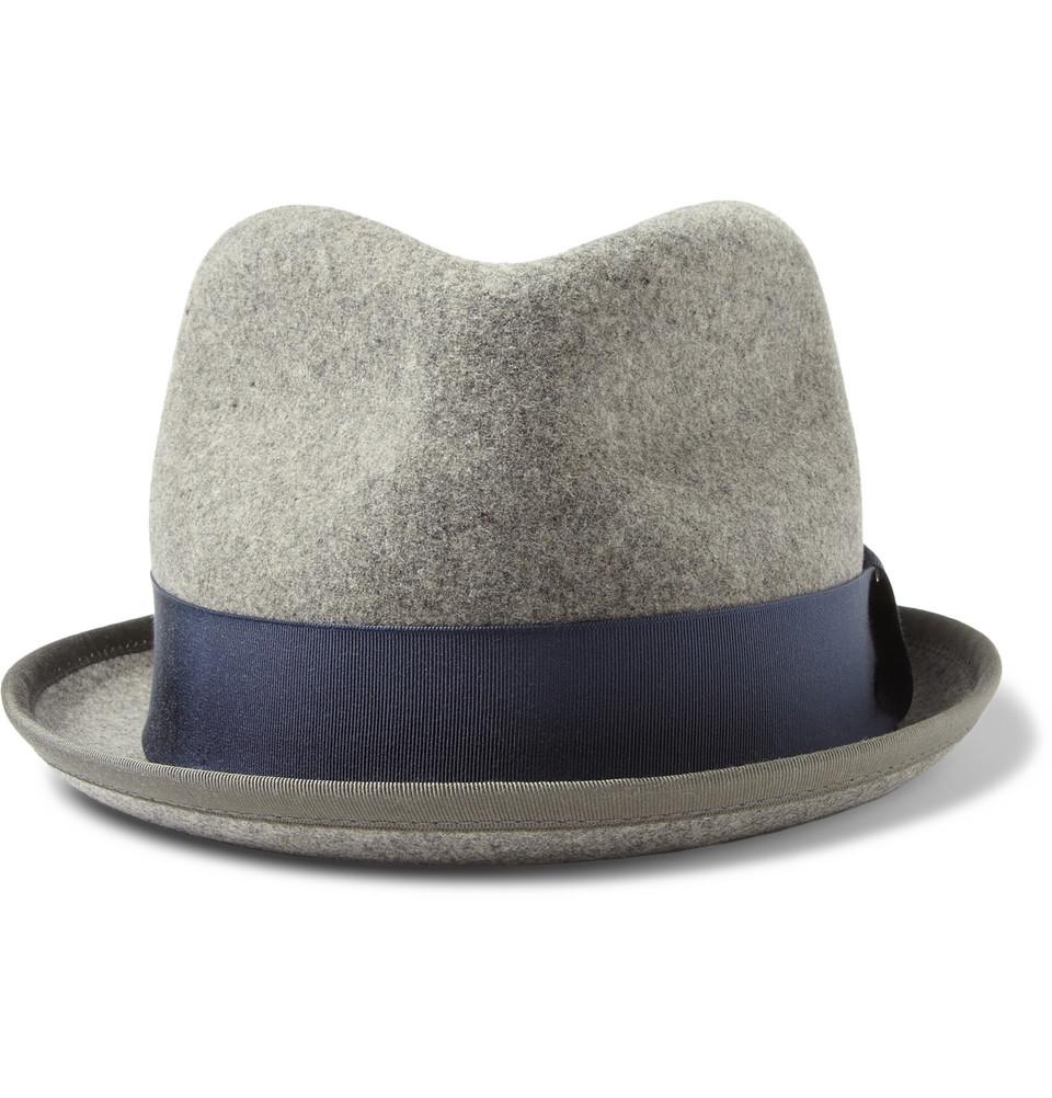 Rag & Bone Wool-Felt Trilby Hat