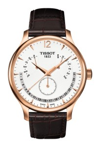 Tissot Tradition Rose Gold Men's Perpetual Calendar Classic Quartz Watch