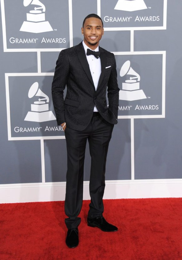 Trey Songz 2013 Grammy Awards