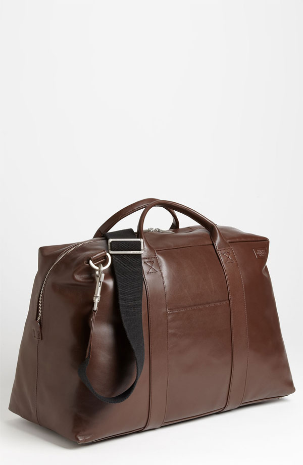 Jack Spade Wayne Leather Duffel Bag 3