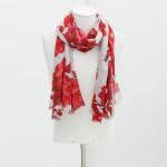 Zara Men's Floral Print Scarf