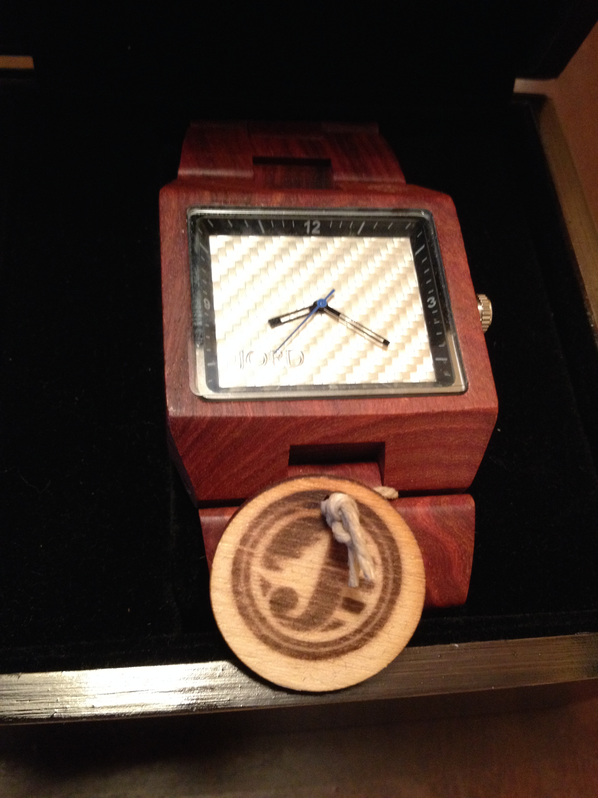Jord Delmar Wood Watch