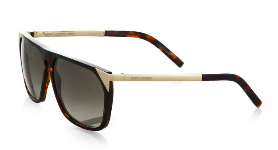 Saint Laurent Oversized Square Acetate Sunglasses