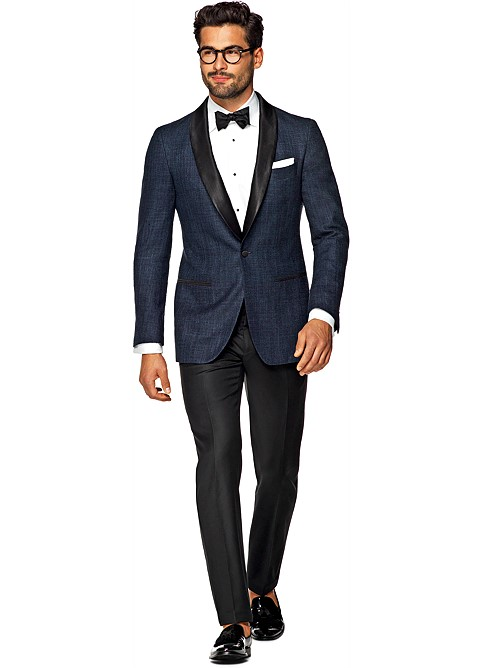 Suitsupply Blue Havana Dinner Jacket